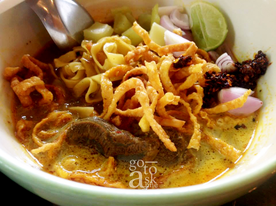 Setthasilp Khao Soi Latest version of Lung Pan Khao Soi.